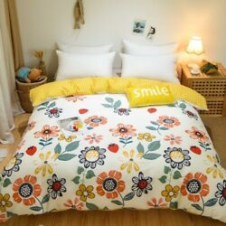 Cotton Duvet Cover Printing Quilt Cover Comforter Cover High Bedding Cover