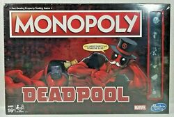 Deadpool Monopoly Marvel Edition Board Game