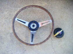 Mazda Early Type Luce Rotary Coupe Rx87 Genuine Steering Wheels Handle Jdm From