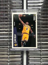 1996 - 1997 Upper Deck Collectorand039s Choice Kobe Bryant Los Angeles Lakers 267...