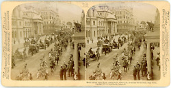 Stereo, Cape Town, South African Light Horse, Coming Down Adderly St. To Entrain