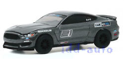 Greenlight 2016 Ford Mustang Shelby Gt350 21 Magnetic Gray 1/64 Diecast 30192