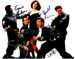 Ghostsbuster Cast Dan Aykroyd +4 Autographed 11x14 Picture Signed Photo Pic Coa