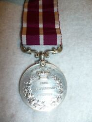 Scarce Colonial Meritorious Service Medal With Canada Reverse George V