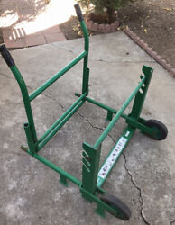 Greenlee 916 Reel Loader Great For Wooden Spools And Cable Reels