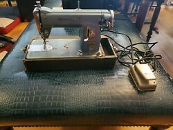 Vintage Nelco Super Deluxe Precision Sewing Machine Goodhousekeeper Made Japan