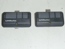 2-pack Liftmaster 893lm 3-button Garage Gate Myq Remote Control Security + 2.0