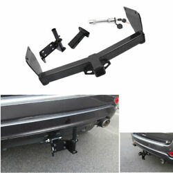 For 2011-2020 Jeep Grand Cherokee Black Rear Bumper Trailer Tow Hitch Hook 1set