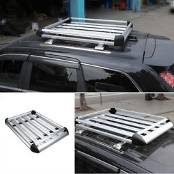 Fit For Jeep Grand Cherokee 2011-2020 Aluminum Silver Roof Cargo Rack Cross Bars