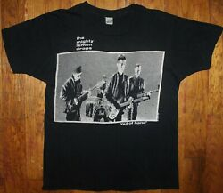 Vintage 1987 The Mighty Lemon Drops Out Of Hand North American Tour Shirt