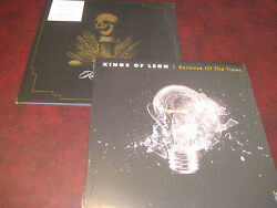 Kings Of Leon Original 2 Lp Set Because Of Times 2007 Issue And Rarely 2011 Issue