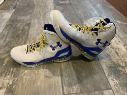 Stephen Curry Warriors Under Armour Shoe UA Clutchfit Drive Mens Sz 13 $84.99