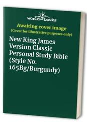 New King James Version Classic Personal Study Bible S... Leather / Fine Binding