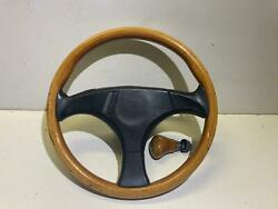 Hella Kba 70113 Wooden Steering With Steering Hub L2507 Audi 100 Coupe 90 80 200