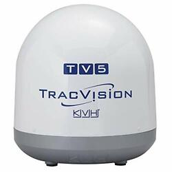 Kvh Industries 01-0373 Tracvision Tv5 Empty Dome/baseplate