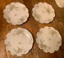 Antique Theodore Haviland China Limoges France Patent Applied For Salad Plate