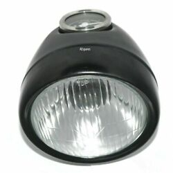Luna Moped 80km/h Classic Headlight Assey 5 1/2 With Bulb Holder And Speedometer