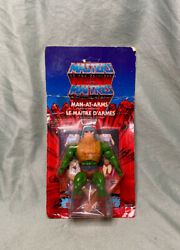 Extremely Rare Motu Vintage Man-at-arms Multiple Language Translations On Card