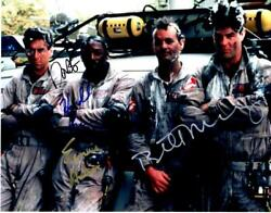 Dan Aykroyd Bill Murray Ramis +1 Signed 11x14 Photo Picture Autographed With Coa