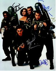 Dan Aykroyd Bill Murray Ramis +2 Signed 11x14 Photo Picture Autographed With Coa