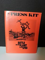 Rare Vintage 1973 Battle For The Planet Of The Apes Press Release Promo Kit