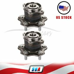 2x For Nissan Rogue 2008-2013 Rear Wheel Hub Bearing And Assembly 512373 New