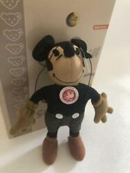 Steiff Disney Collaboration 1930s Mickey Mouse Plush Doll Jp 1000 Limited Rare