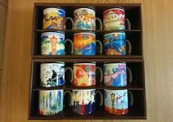 Starbucks 2010 Limited Edition Area Collectible Demi Set Japan Limited Item
