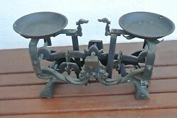 Old Decorative Antique Vintage Style Apothecary Balance Scales