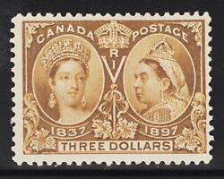 Canada Postage Stamp Catalog No 63, Mint Lh