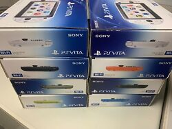 Ps Vita Pch-2000 Sony Playstation Various Colors Accessories Complete【good】