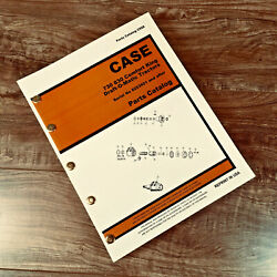 Case 730 830 Series Draft-o-matic Tractor Parts Manual Catalog S/n8253501and After
