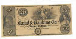 20 New Orleans Maiden Eagle Louisiana Canal And Banking Company 18xx G32