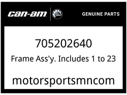 Can-am Oem Part 705202640