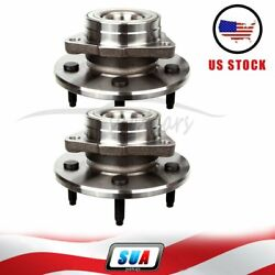 515010 Set Of 2 Fits F-150 4wd W/ 4-wheel Front Wheel Hub And Bearing Assembly