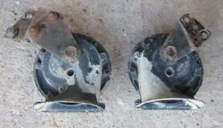 Sunbeam Alpine V/ Tiger Clear Hooters Horn Pair Hooter Horns 2 H And L Used Orig