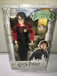 Harry Potter Collectible Triwizard Tournament Doll 10.5-inch Wand And Golden Egg