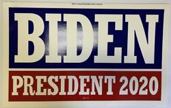100 Lot Biden President 2020 Blue And Red W/100 Frames Yard Sign Dbl Sided 14x23