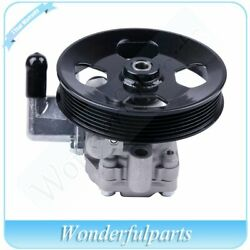 Power Steering Pump With Pulley For 05-10 Kia Sportage Hyundai Tucson