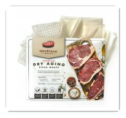 DrySteak Wraps for Dry Aging Meat at Home Dry Age Sirloin Ribeye Short Loin