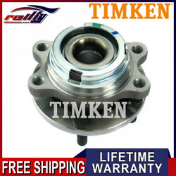 Front Wheel Bearing And Hub Assembly Timken Ha590046 For 2003-2007 Nissan Murano