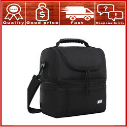 MIER Adult Lunch Box Insulated Lunch Bag Large Cooler Tote Bag for Men Women $23.69