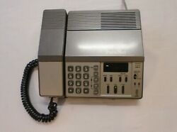 Vintage Phonemate Telephone Answering System 9750 2 Line Recorder Professional