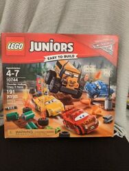 Lego Junior Disney Cars Thunder Hollow Crazy 8 Race New In Box Never Opened