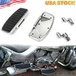 Adjusted Motorcycle Front Floorboards For Honda Shadow Ace Vt750c 97-2003 Us New
