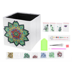 Diamond Painting Embroidery Cross Foldable Storage Boxes Crafts Home Decor Diy