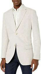 Perry Ellis Menand039s Big And Tall Linen Suit Jacket