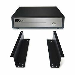 Hk Systems Push Open Cash Drawer Heavy Duty 16 Under Counter Mounting Metal New