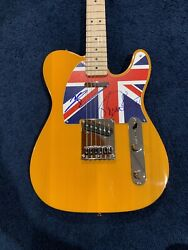 Pete Townshend Roger Daltrey Signed Autographed Telecaster Guitar The Who Jsa