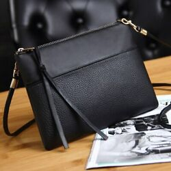 Women#x27;s Clutch Bag Leather Crossbody Bags Small Messenger Shoulder Bags $9.99